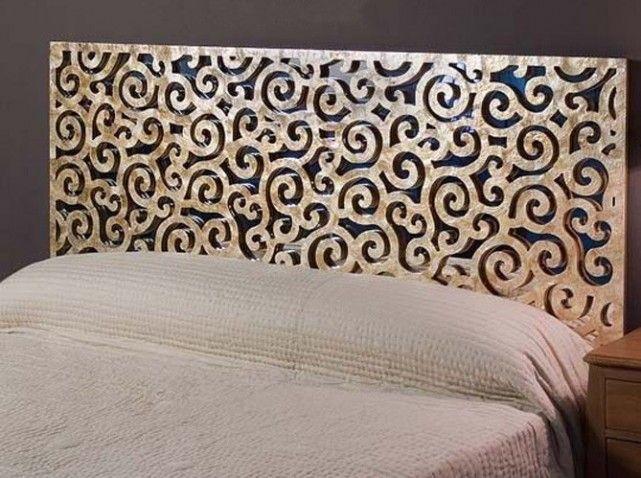 Les 17 meilleures id es de la cat gorie moucharabieh sur for Decoration murale pour tete de lit