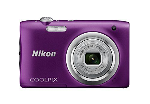 Nikon Coolpix A100 Appareil photo Compact 20 Mpix: Élégant, fin et facile à utiliser, le Coolpix A100 se glisse facilement dans une poche…