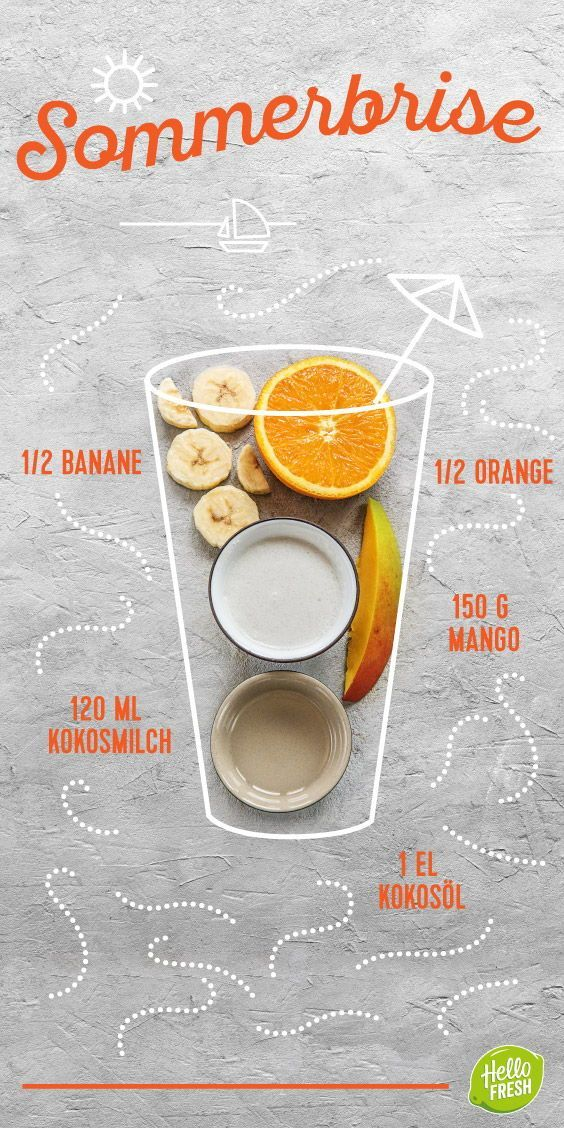 Rezept: Sommer Smoothies selber machen – abkühlen bei der Hitze. Leckere, gesun