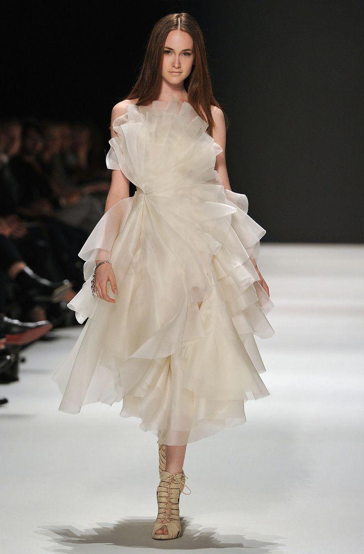Exploded Flower Dress, kaviar gauche