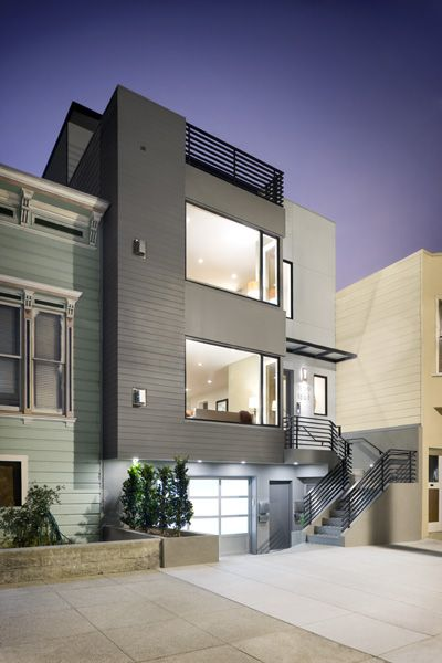 Great modern infill home by a Cal Poly Architect - Y.A. studio 1667 Church