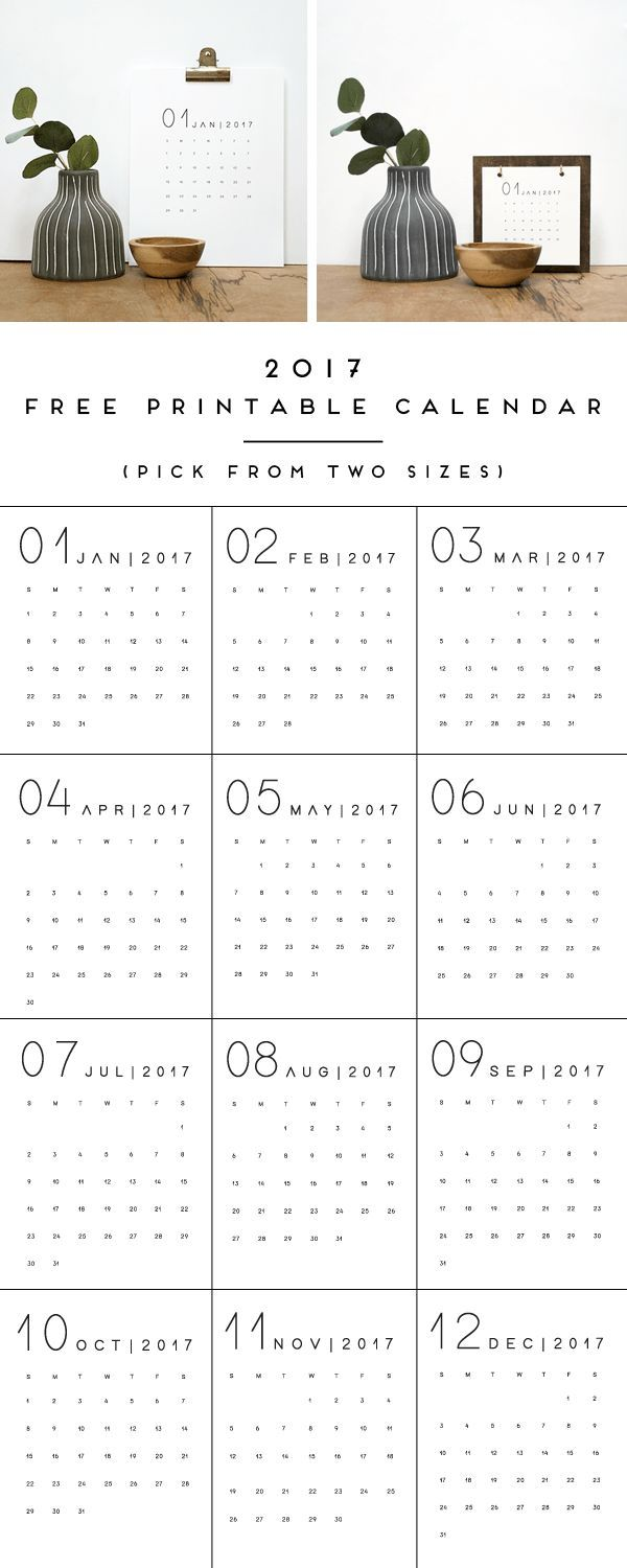 Calendar Sizes Ideas : Ideas about printable calendars on pinterest free