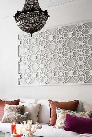 Fretwork Wall Panel -  Love!!