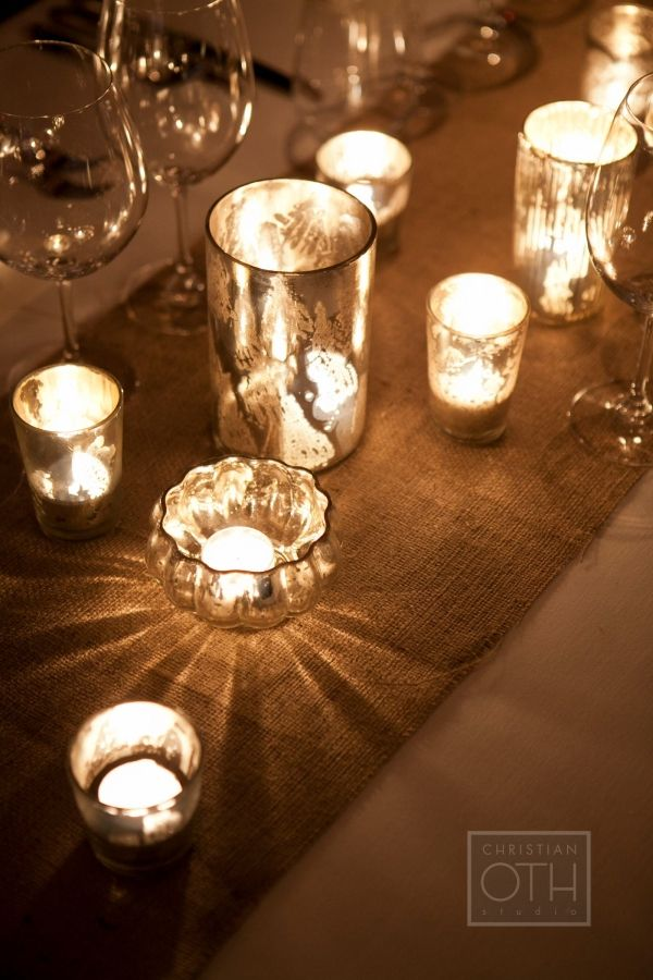 mercury glass reception decorations   ... Guide Wedding Ideas Inspiration Boards Floral & Decor DIY Projects