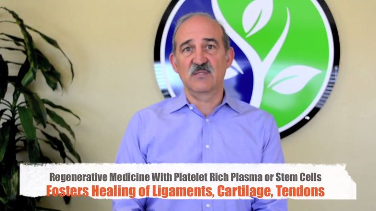Regenerative Medicine With PRP and Stem Cell Therapy for Osteoarthritis