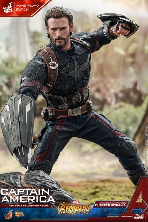 Hot Toys Avengers Infinity War 1 6th Scale Captain America Images