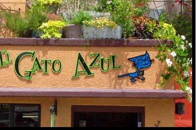 El Gato Azul one of my favorite restaurants in Prescott, AZ
