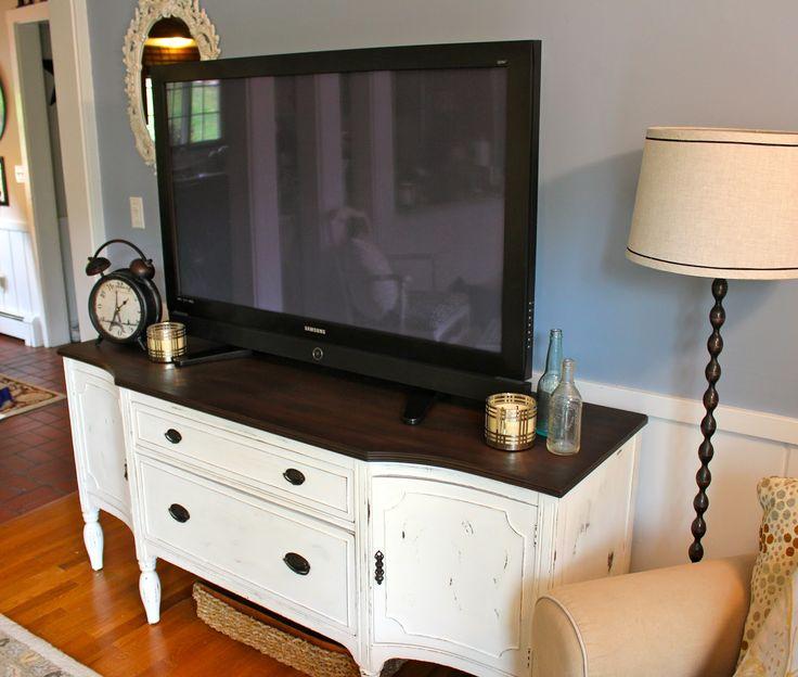 Best 25+ Antique tv stands ideas on Pinterest   Tv console modern ...
