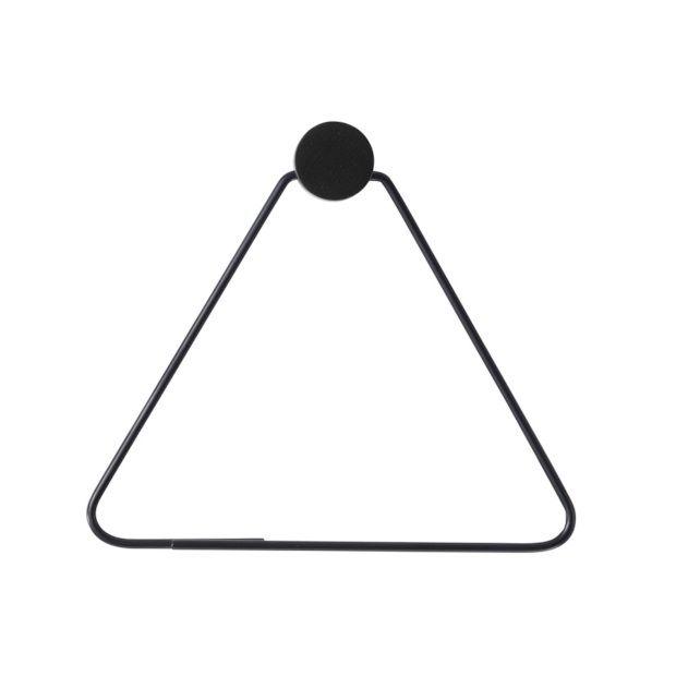 Ferm Living Toiletrolhouder 17,5 - 15 cm - Zwart - afbeelding 1
