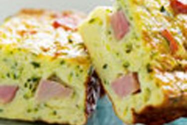 Ham and Courgette Slice recipe, NZ Woman's Weekly – visit Food Hub for New Zealand recipes  repinned by http://www.oliverestaurant.co.nz/