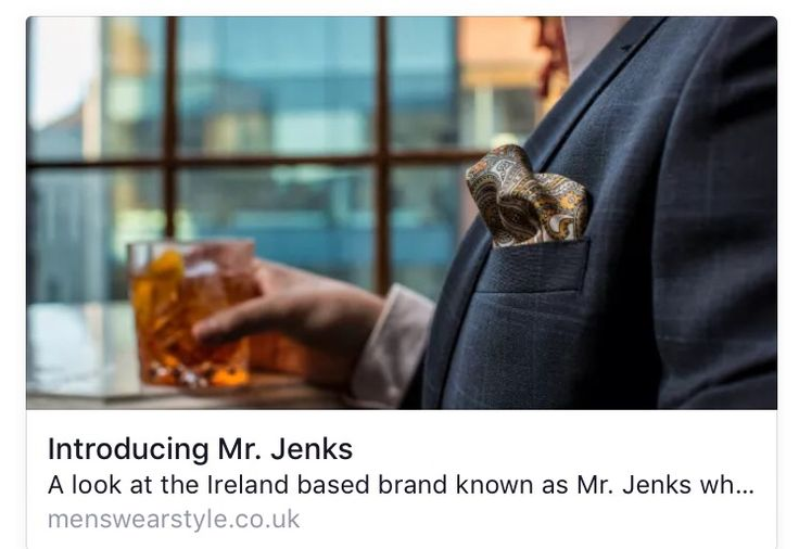 What does Menstylewear think of Mr. Jenks? Find out here: http://www.menswearstyle.co.uk/2015/11/30/introducing-mr-jenks/5031?utm_campaign=shareaholic&utm_medium=twitter&utm_source=socialnetwork