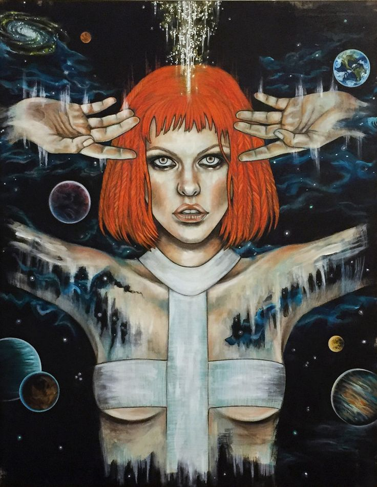 Leeloo (The Fifth Element) by Wendy Ortiz