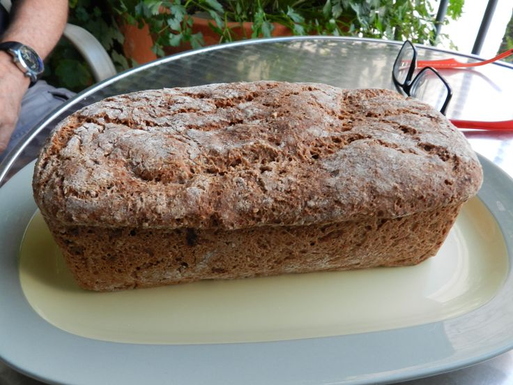 My Meusli Bread - Delicious, nourishing and spiked with pieces of my candied orange peel - Ohh yeah!