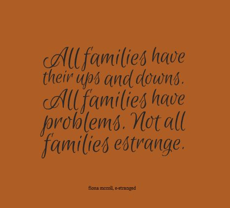 problems in families The troubled families team louise casey has also published a report – listening to troubled families which describes the problems families face.