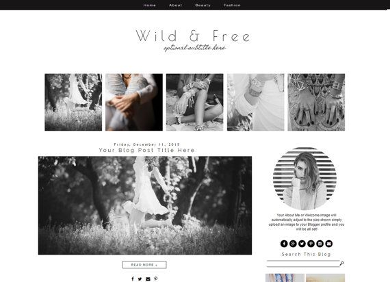 9 best Blogger Templates images on Pinterest Blogger templates - fashion blogger templates