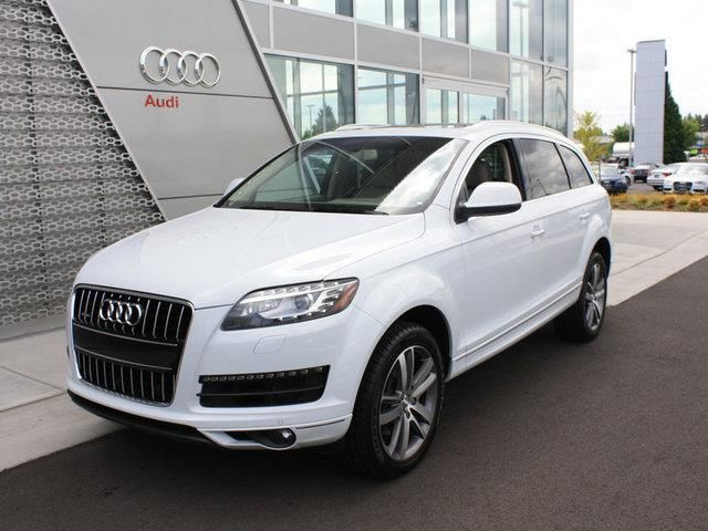 2013 Audi Q7 3.0TquattroPremiumPlus AWD 3.0T quattro Premium Plus 4dr SUV SUV 4 Doors Glacier White Metallic for sale in Fife, WA Source: http://www.usedcarsgroup.com/used-audi-for-sale-in-fife-wa