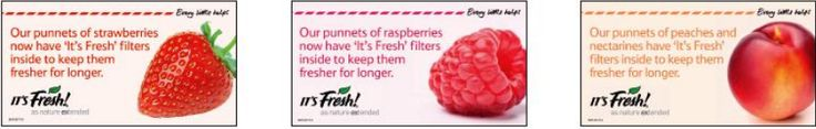 Look out for the #ItsFresh logos in store at #Tesco so you know that our filters are in your pack of Strawberries, nectarines or Raspberries, for extended freshness.  If you want to find out more pop over to our FAQs page http://www.itsfresh.com/media/its-fresh-faqs/