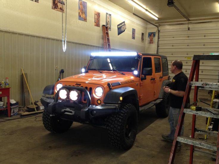 50 Led Light Bar Jeep Wrangler