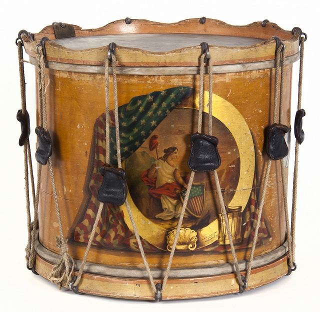 1st Minnesota Civil War drum, 1861.Featured on the Minnesota Historical Society's collections