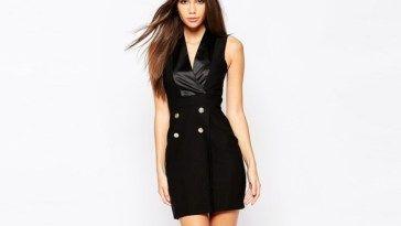 7 Stylish Tuxedo Dresses For Women