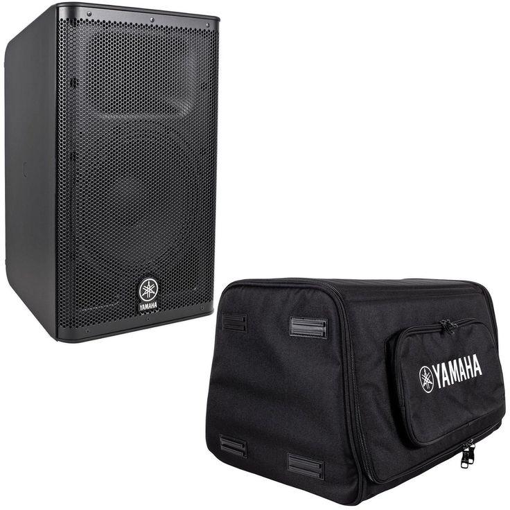 "Yamaha DXR10 10"" 1100 Watt Peak / 700 Watt RMS 2-Way, Bi-amp Powered Speaker + Yamaha DXR10-BAG Padded Carry Bag : $599"