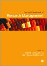 Kuvaus: The Handbook of Research Management is a unique tool for the newly promoted research leader. Larger-scale projects are becoming more common throughout the social sciences and humanities, housed in centres, institutes and programmes. Talented researchers find themselves faced with new challenges to act as managers and leaders rather than as individual scholars.