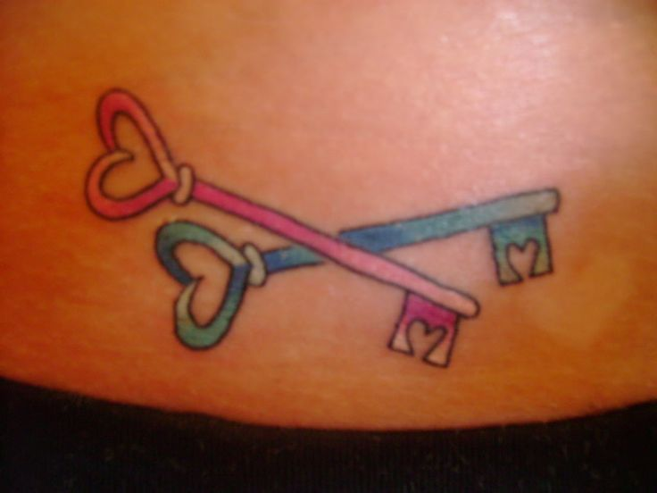 Key To My Heart Tattoo Designs Best 25+ Key heart tat...