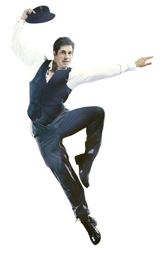 Adam Garcia...leaping... Can I have him as a Christmas present mommy?