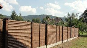Ogrodzenia z połowicy drewnianej - ZHU MOSTAR Jolanta Dębowska Rębielice Królewskie