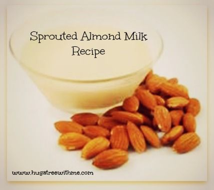 Sprouted Almond Milk Recipe #healthy