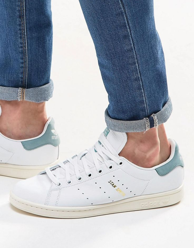 adidas+Originals+Stan+Smith+Trainers+In+White+S80025
