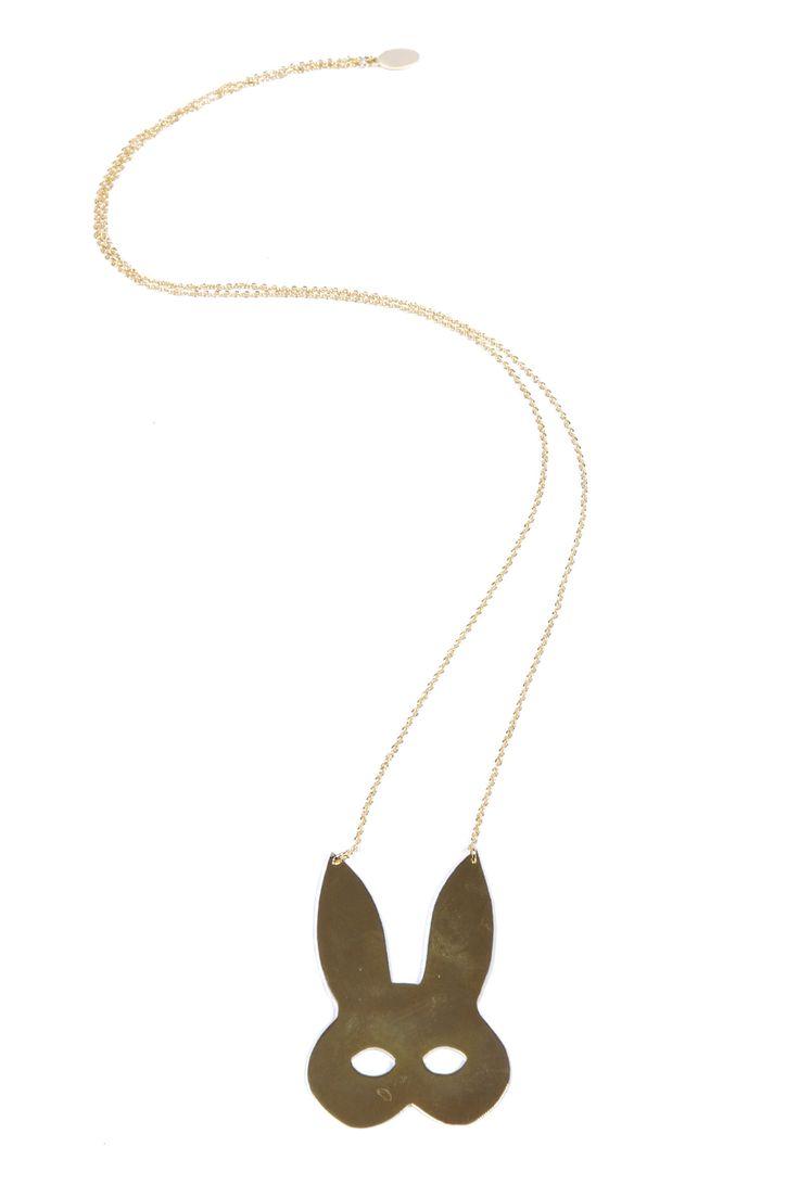 Rabbit Mask Necklace