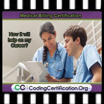 How Does Medical Billing Certification Help My Career? Certification helps your career by putting you in touch through your professional organization with other certified professionals.