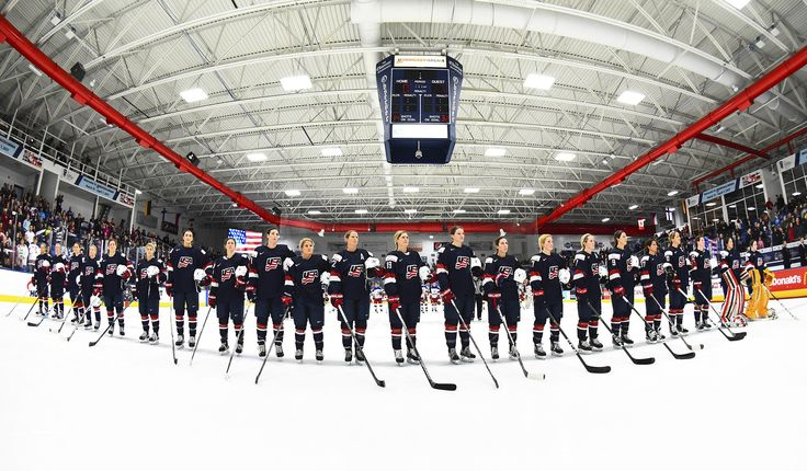 """USA Hockey 20170407: """"GAMEDAY: U.S. Battles Canada for Women's Worlds Gold -  #TeamUSA faces Canada at 7:30 p.m. ET in the Women's World Championship gold-medal game."""" #2017WWC"""