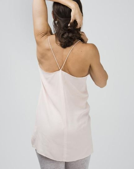 silk camisole, (available in two shades) $89 www.sassind.com