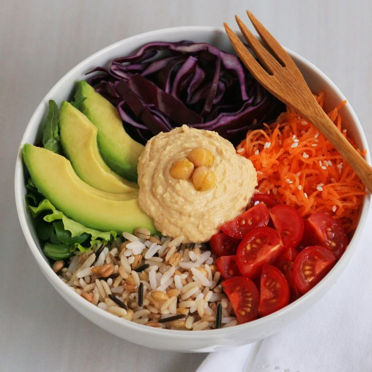 Veggie Whole Bowl - reminds me of the salad bowl I had in Paris