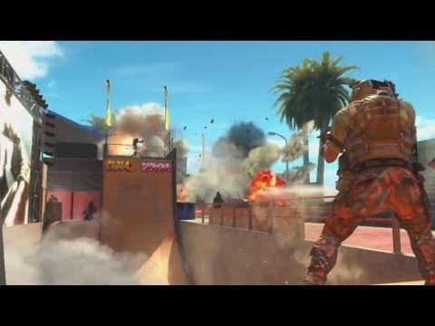 http://callofdutyforever.com/call-of-duty-gameplay/black-ops-2-revolution-dlc-map-pack-gameplay-official-cod-black-ops-2-video/ - Black Ops 2 - Revolution DLC Map Pack Gameplay - Official CoD: Black Ops 2 Video  Primer DLC (Pack de Mapas) de Black Ops 2 el cual llegará el 29 de Enero!! Incluye 4 mapas multijugador (Hydro, Grind, Mirage, Downhill) y 1 mapa del modo Zombies (Die Rise). Además por primera vez en la historia de los CoD incluirá un nuevo arma (Peacekeeper SMG)