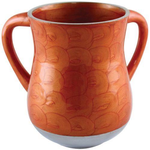 Orange washing cup