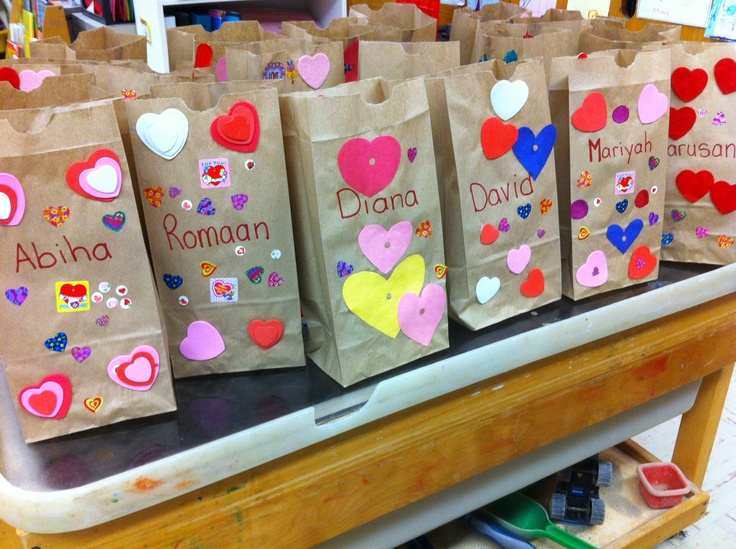 Valentine Bags For Kindergarten : Best images about valentines day on pinterest bags
