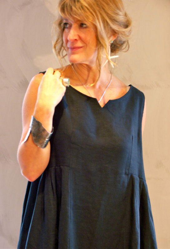 Plisowana suknia Bez rękawów, 250 funtów w pościeli.