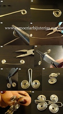 Egyptian coil picture tute  #Wire #Jewelry #Tutorials