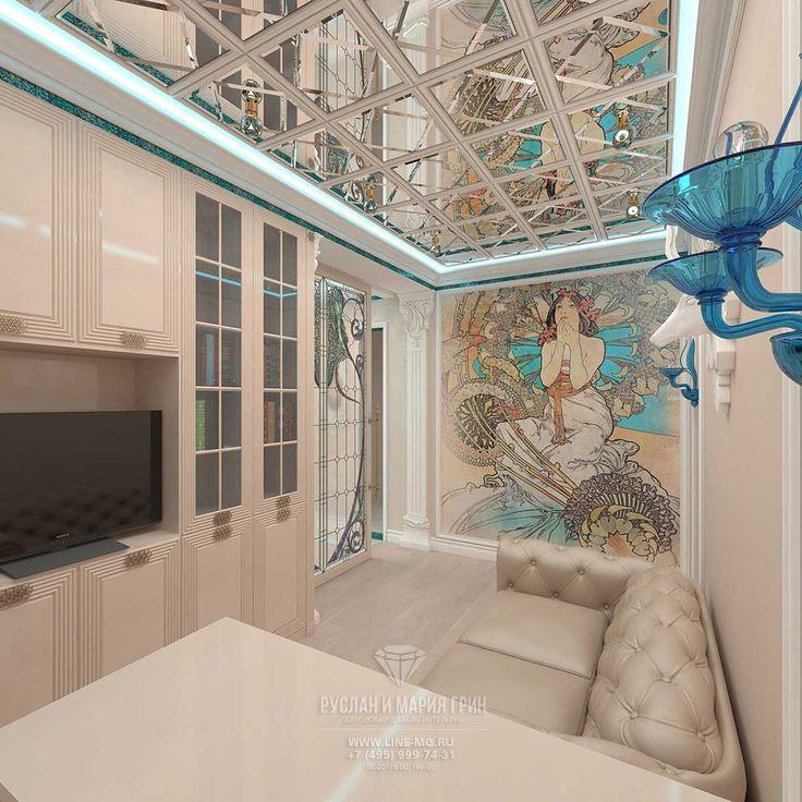 Дизайн интерьера кабинета  http://www.line-mg.ru/dizayn-kvartir-2016-26-foto-novinok-interyera