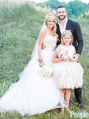 Emily Maynard Shares Magical Wedding Video Celebrity Weddings And Engagements Pinterest Photos Dresses