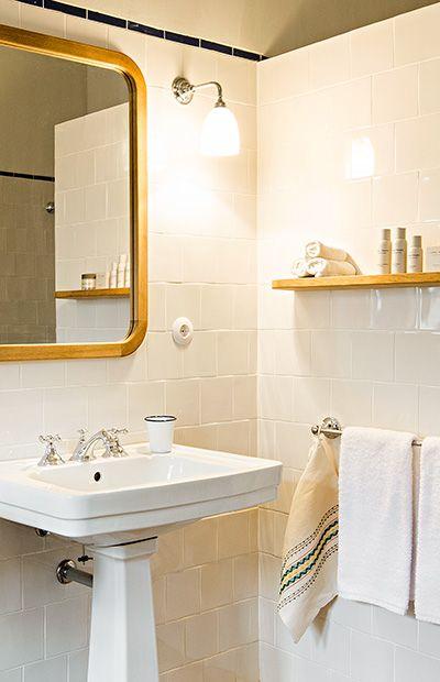 Farmstate Hotel & Retreat São Lourenço do Barrocal in Portugal koos voor badkamerlampen van De blauwe Deel Verlichting.