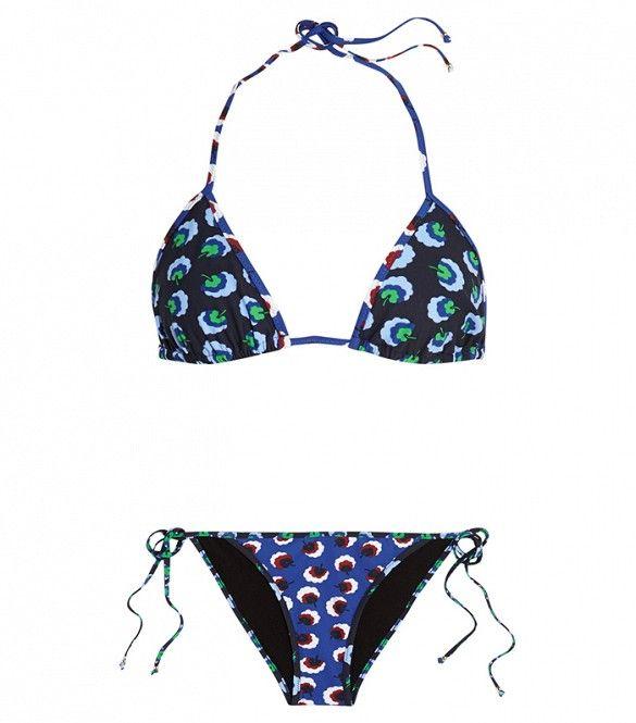 Stella McCartney Floral-Print Bikini