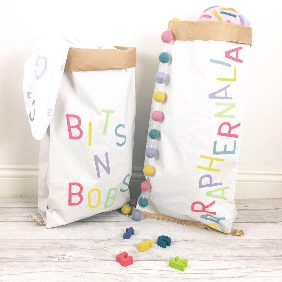 Almacenamiento de juguetes regalo personalizado niños