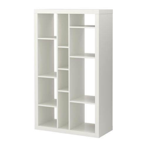 In lieu of bakers rack...  EXPEDIT Shelving unit, white white 35x58 5/8