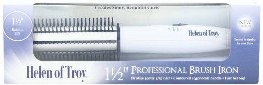 "Amazon.com: Helen of Troy Super Mega 1-1/2"" Professional Brush Iron: Beauty"