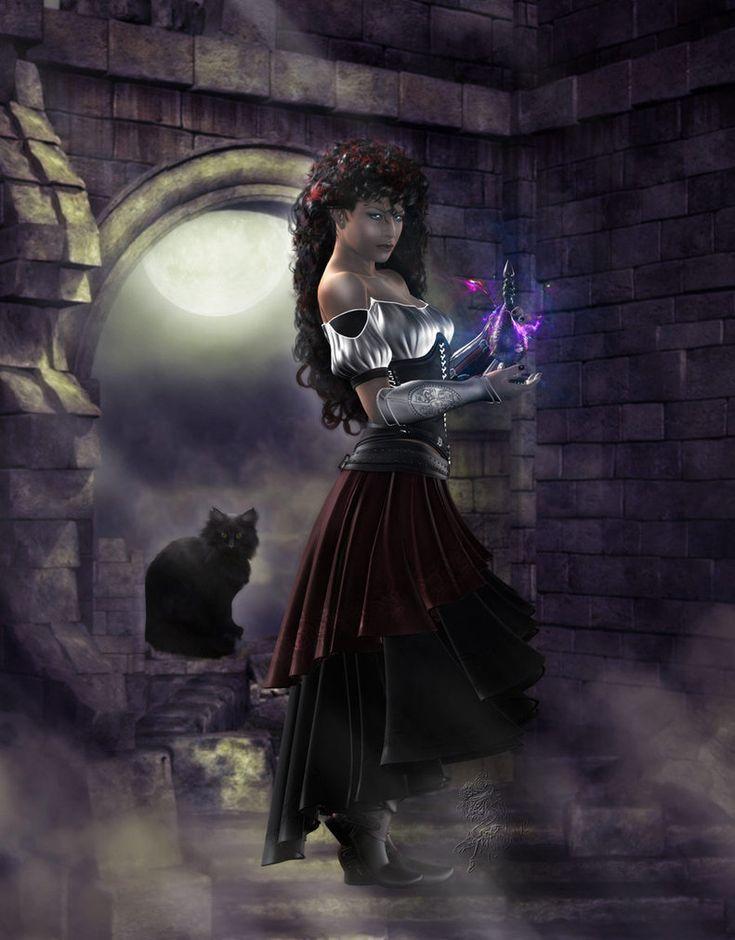 """Gypsy:  """"Gypsy Witch,"""" by ~Tallameia, at deviantART."""