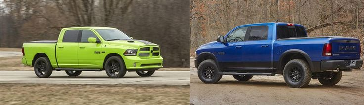 Ram brought bold colors to the light-duty Ram 1500 lineup, do you want one?  #RamTrucks #Trucks #Ram #LimitedEdition